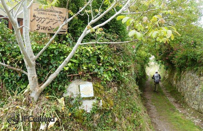 Camino de Santiago por el Camino del Norte, etapa Ribadesella-Colunga