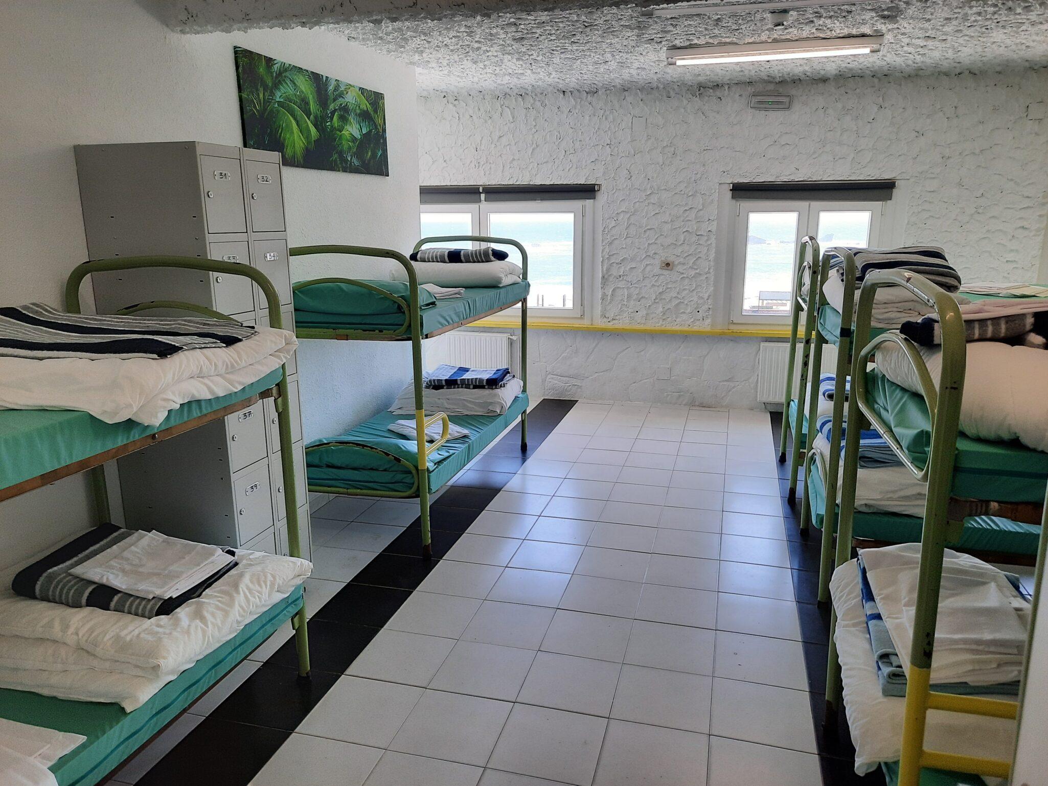 habitaciones albergue